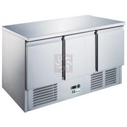 Table réfrigérée 3 portes 1365 x 700 modèle de déstockage